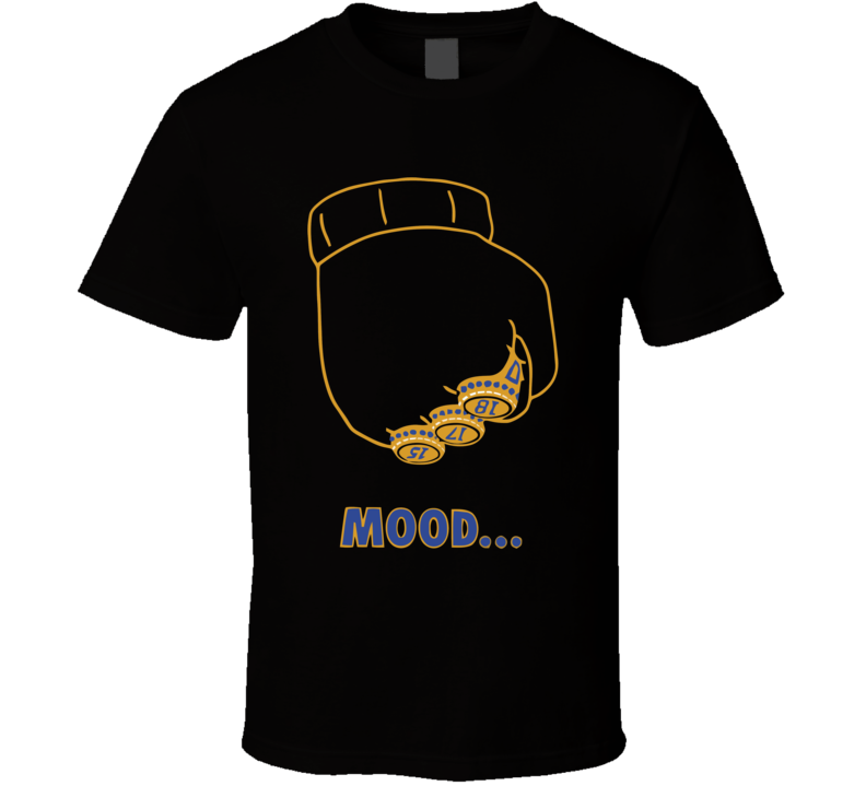 Draymond Green Mood Tee Warriors Championship Parade T Shirt