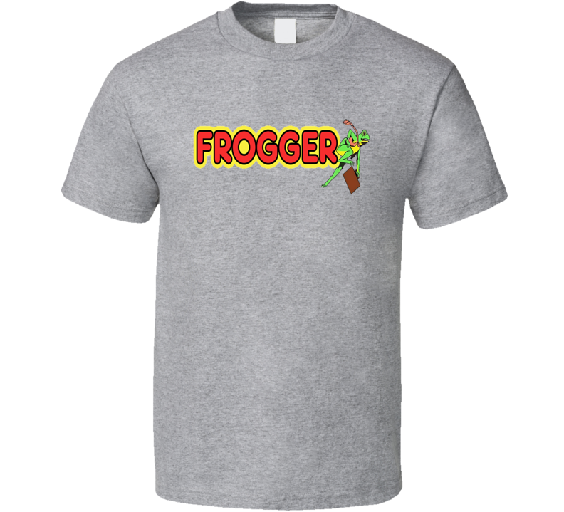 Frogger Video Game Tee Cool Retro Gaming T Shirt