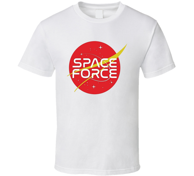 Space Force Tee Cool American Donald Trump Trendy T Shirt