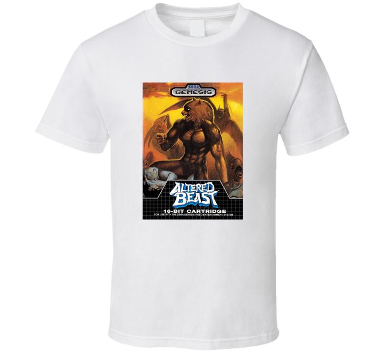 Altered Beast Tee Cool Sega Genesis Video Game Retro Gaming T Shirt