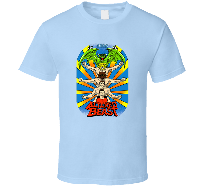Altered Beast Sega Tee Col Arcade Retro Gaming T Shirt