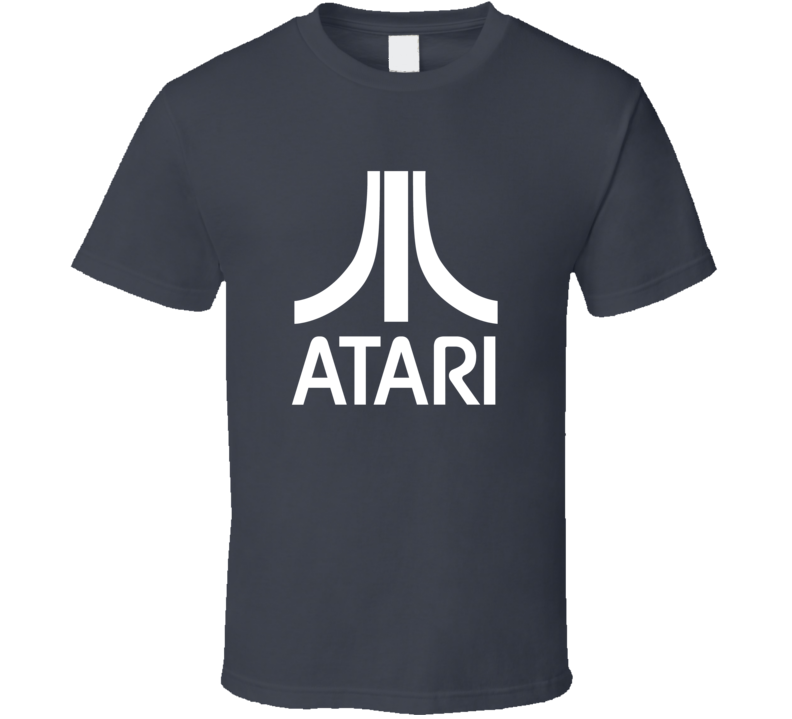Atari Logo Tee Cool Video Game Retro Gaming T Shirt
