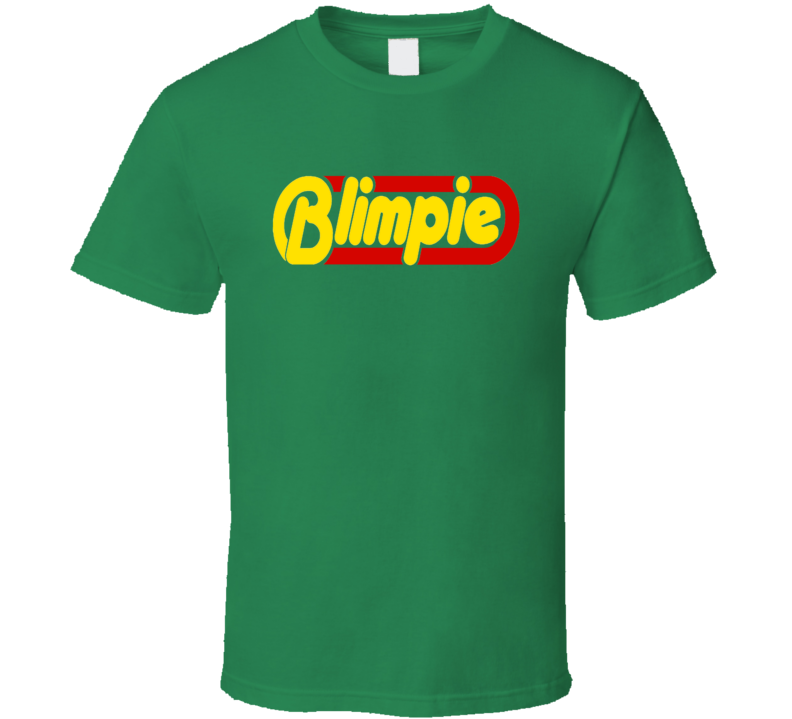 Blimpie Tee Cool Sub Shop Restaurant Worker Halloween Costume T Shirt