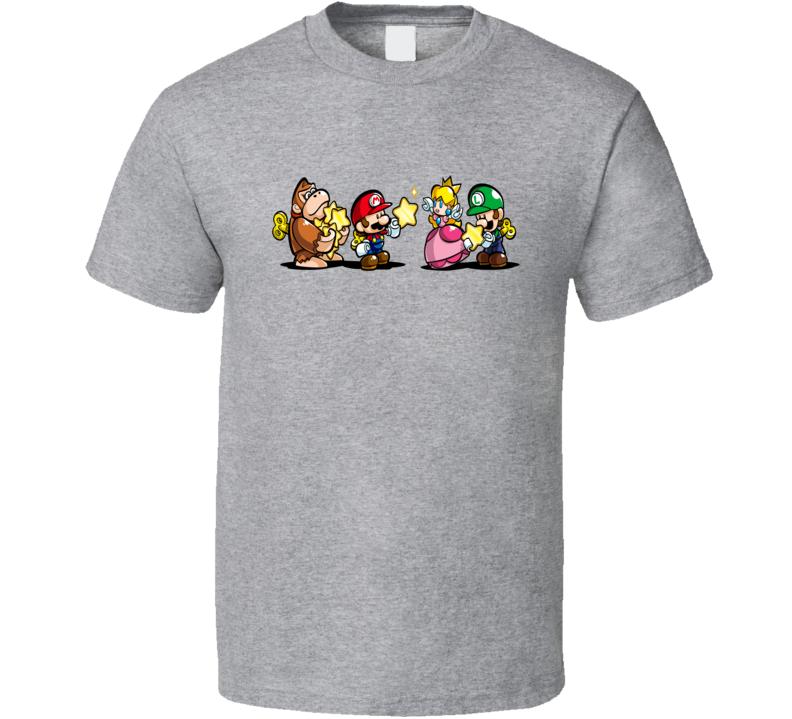 Donkey Kong Mario Brothers Tee Cool Gaming T Shirt