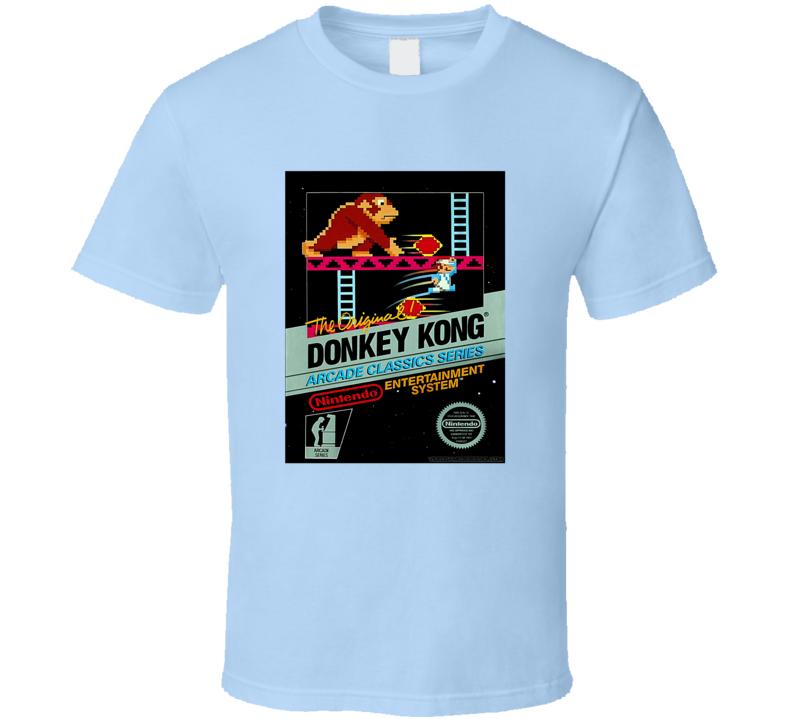Donkey Kong Arcard Game Tee Cool Retro Gaming T Shirt