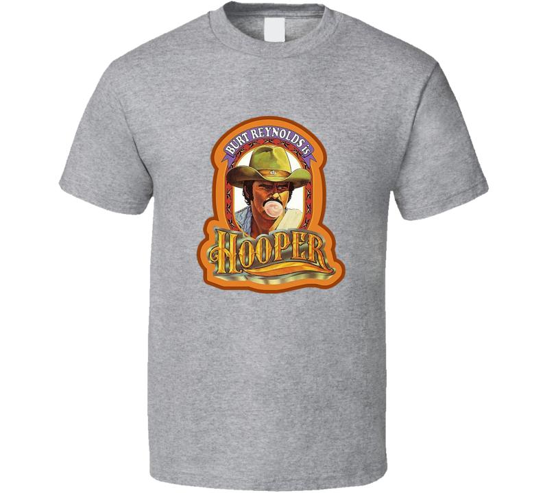 Hooper Movie Tee Cool Burt Reynolds Fan Retro T Shirt