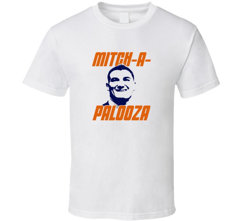 Mitch A Palooza Tee Cool Mitch Trubisky Chicago Football Quarterback T Shirt