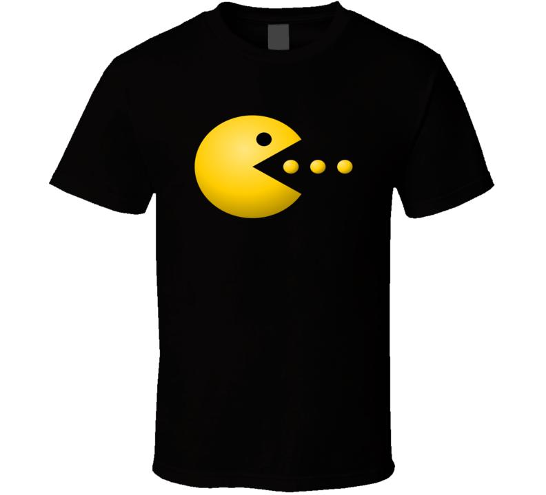 Pacman Arcade Game Tee Cool Gaming Retro T Shirt