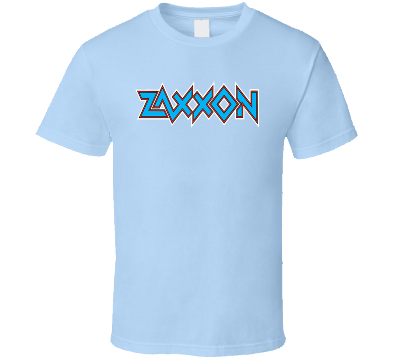 Zaxxon Tee Cool Arcade Video Gaming Retro Gaming T Shirt