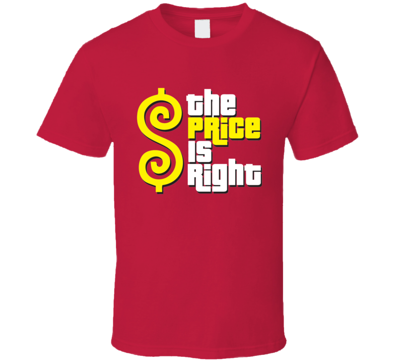 The Price Is Right Tee Cool Game Show Contestant Halloween Costume T Shirt