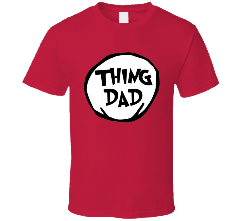Thing Dad Tee Funny Couples Halloween Costume T Shirt