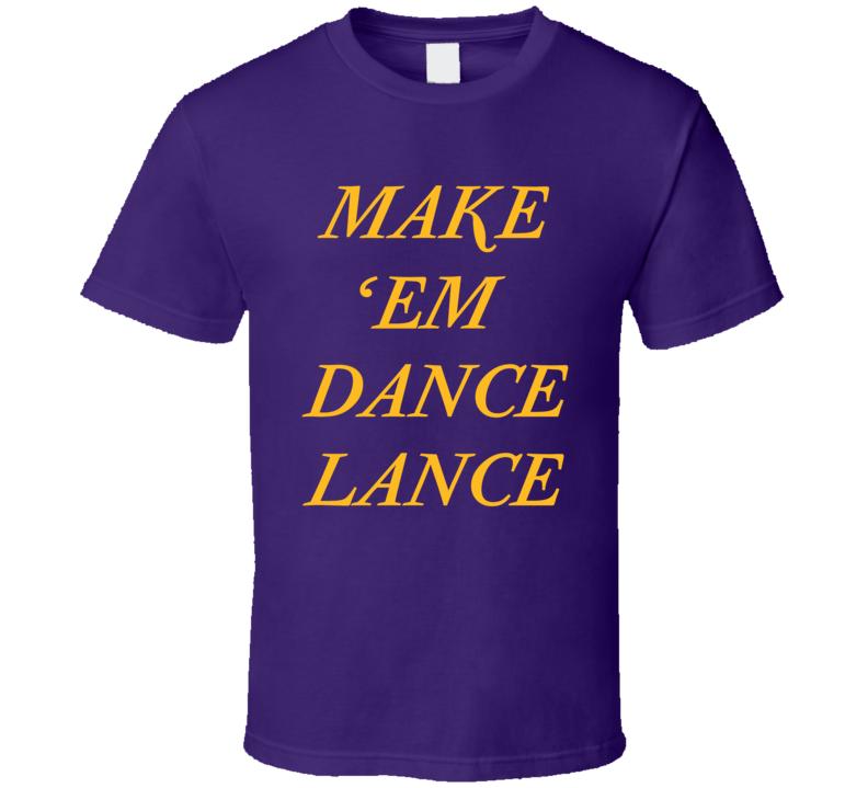 Make Em Dance Lance  Stephenson Tee Los Angeles Basketball T Shirt