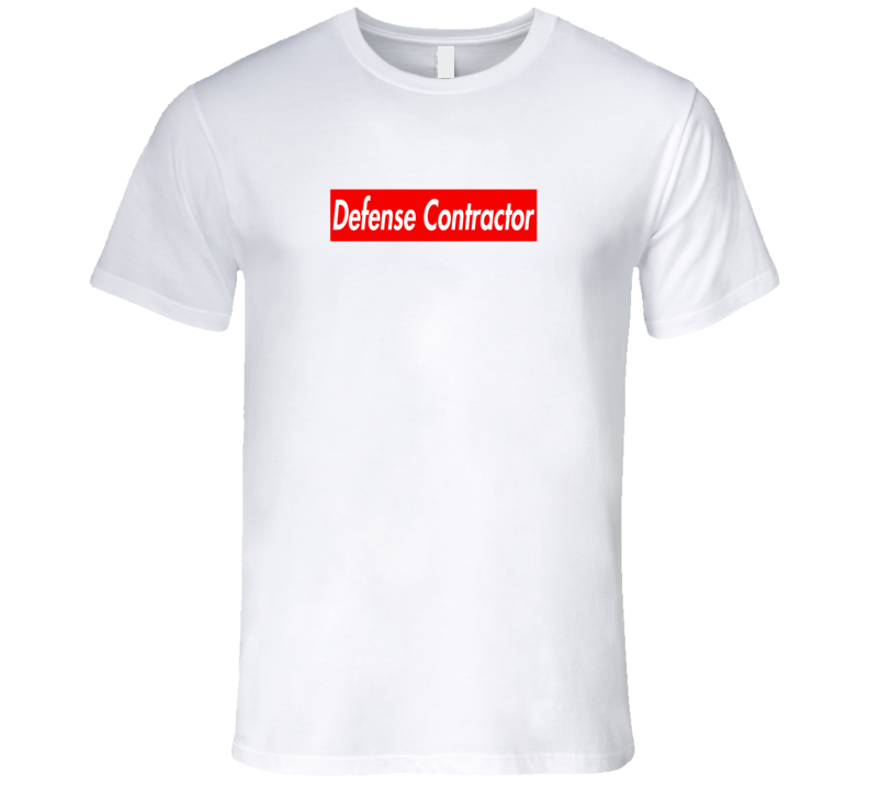 Defense Contractor Supremium Parody Tee Cool Hasan Minaj T Shirt
