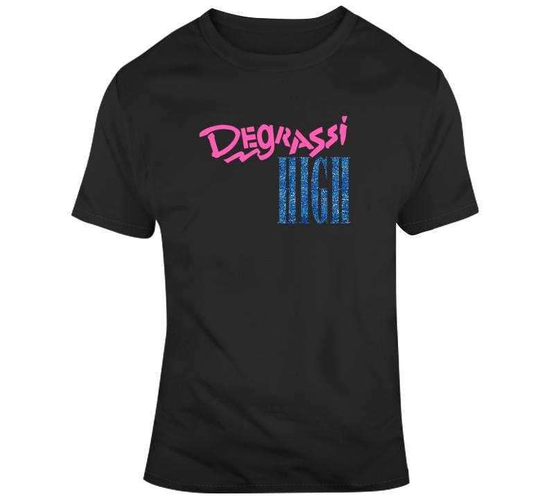 Degrassi High Tee Cool TV Show Series T Shirt  T Shirt