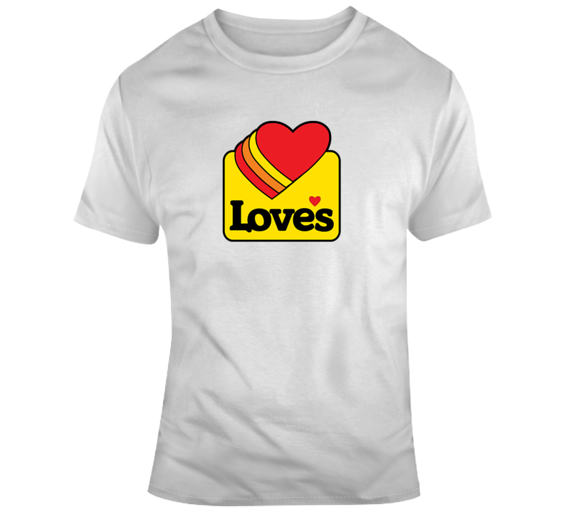 Love's Tee Cool Travel Stop Truck Driver Trucking T Shirt