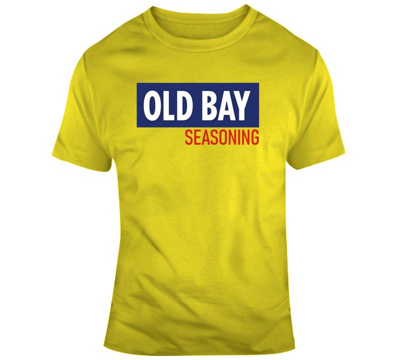 Old Bay Seasoning Tee Funny Halloween Costume T Shirt