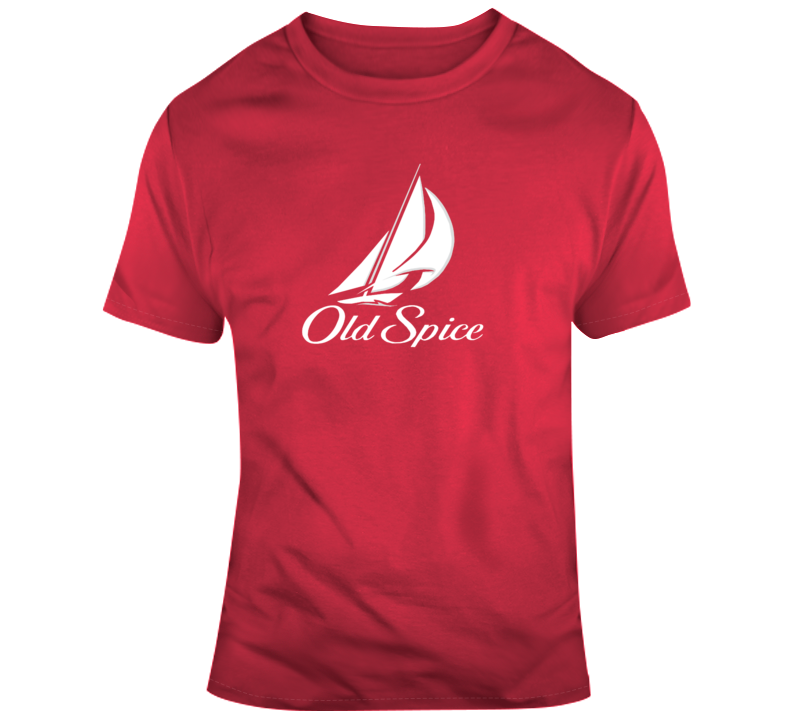 Old Spice Tee Cool Deodorant Halloween Costume T Shirt