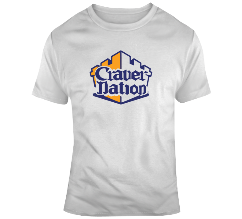 Craver Nation Tee Cool White Castle T Shirt