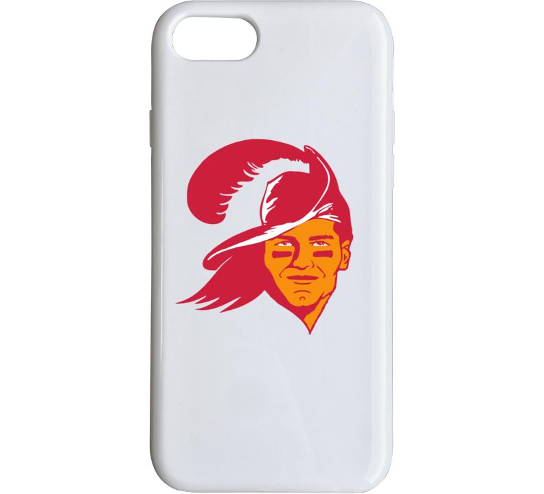 Tom Brady Tampa Bay Football Parody Retro Logo Phone Case