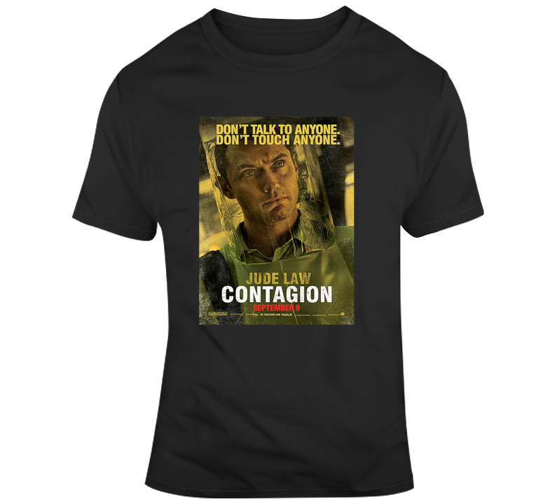 Contagion Tee Cool Movie Poster T Shirt
