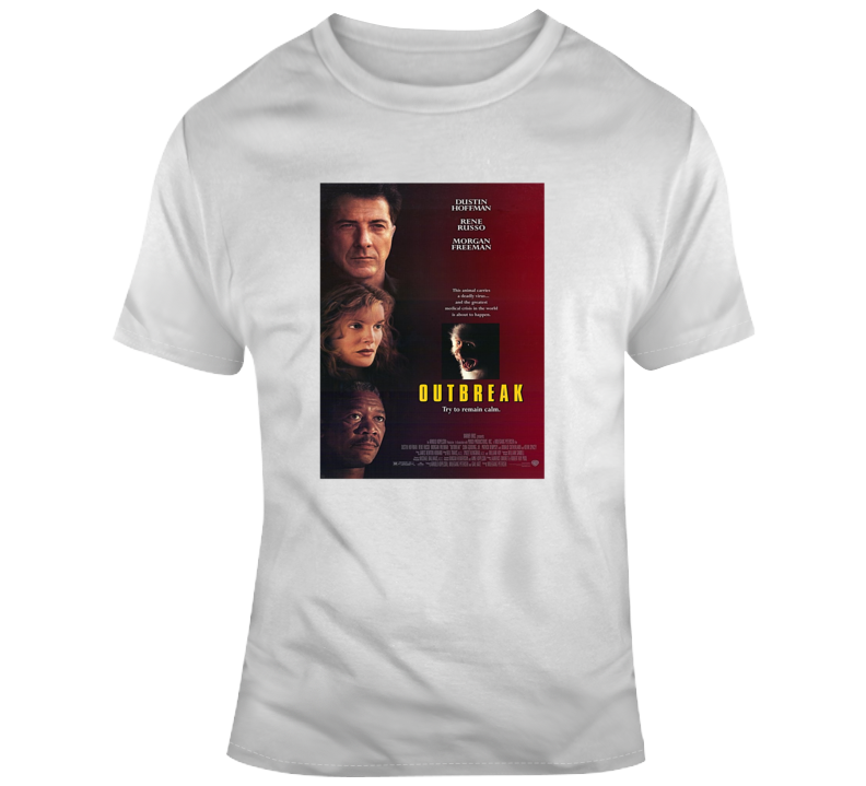 Outbreak Movie Tee Cool Movie Poster T Shirt