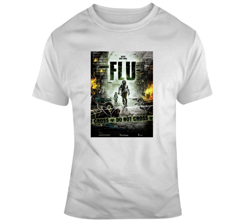 The Flu Movie Tee Cool Movie Poster T Shirt