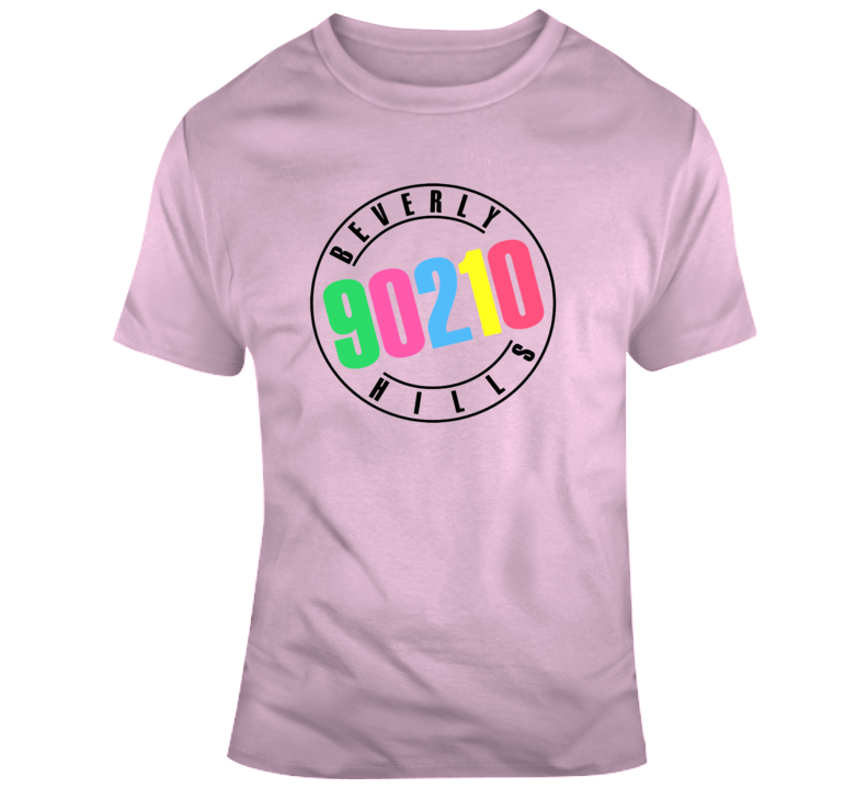 Beverly Hills 90210 Tee Trendy TV Show Retro T Shirt