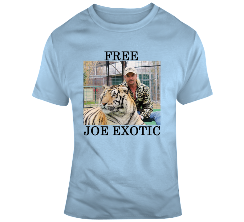 Free Joe Exotic Tee Funny Tiger King T Shirt