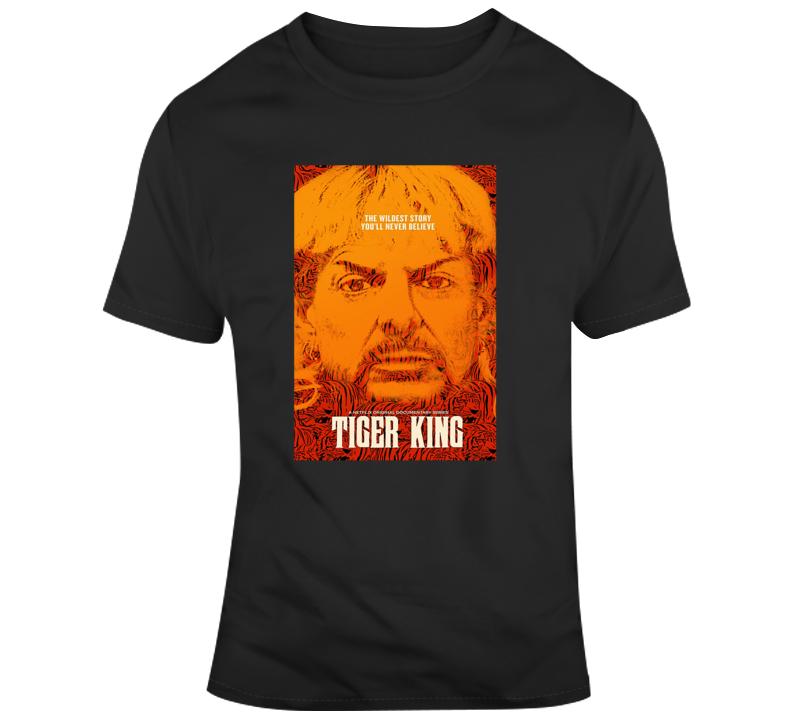 Tiger King Tee Joe Exotic Poster T Shirt