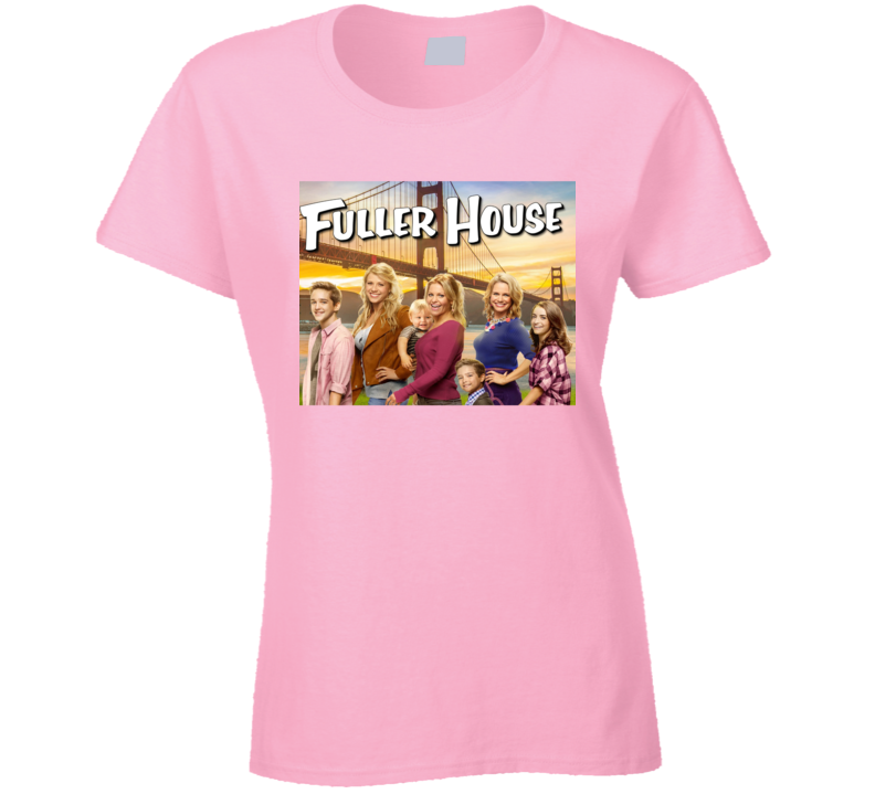Fuller House Tee Cool TV Show Ladies T Shirt