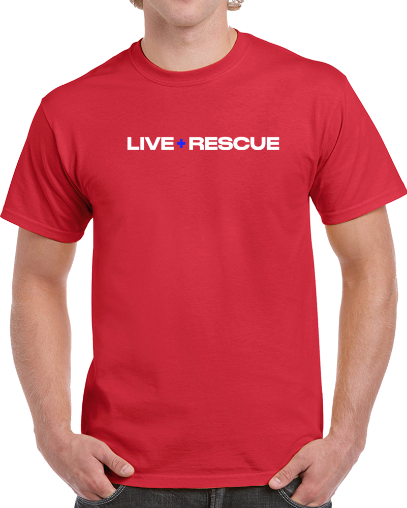 Live Rescue Tee Cool TV Show T Shirt