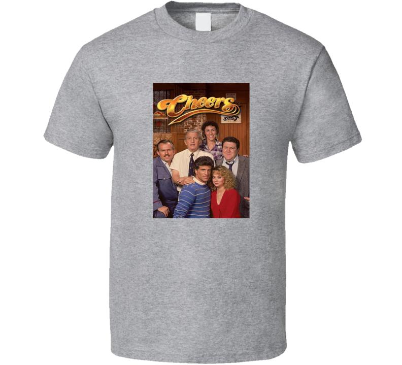 Cheers Tee Cool Retro Series Tv Show T Shirt