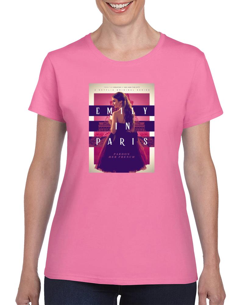 Emily In Paris Tee Cool Tv Show Fan Ladies T Shirt