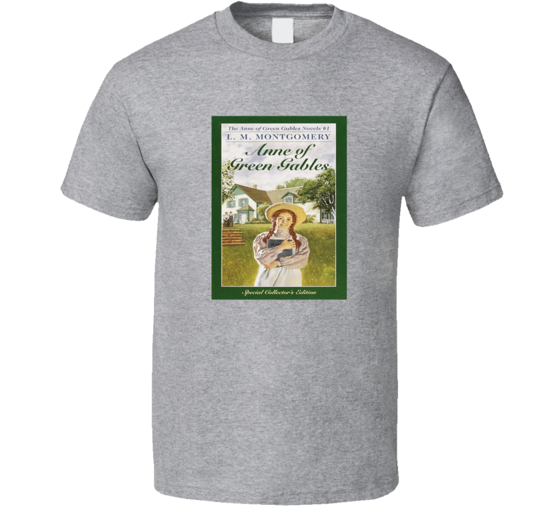 Anne Of Green Gables Tee Cool Classic Book Novel T Shirt