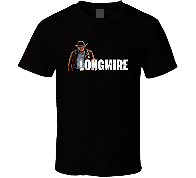 Longmire Tee Western TV Show Series Fan T Shirt