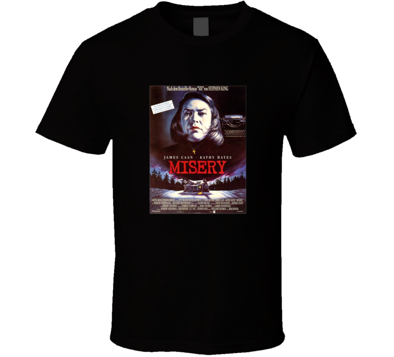 Misery Tee Thriller Horror Movie Poster Fan T Shirt