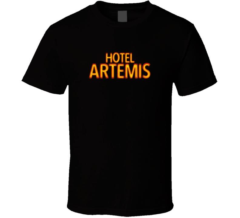 Hotel Artemis Tee Thriller Movie Fan T Shirt