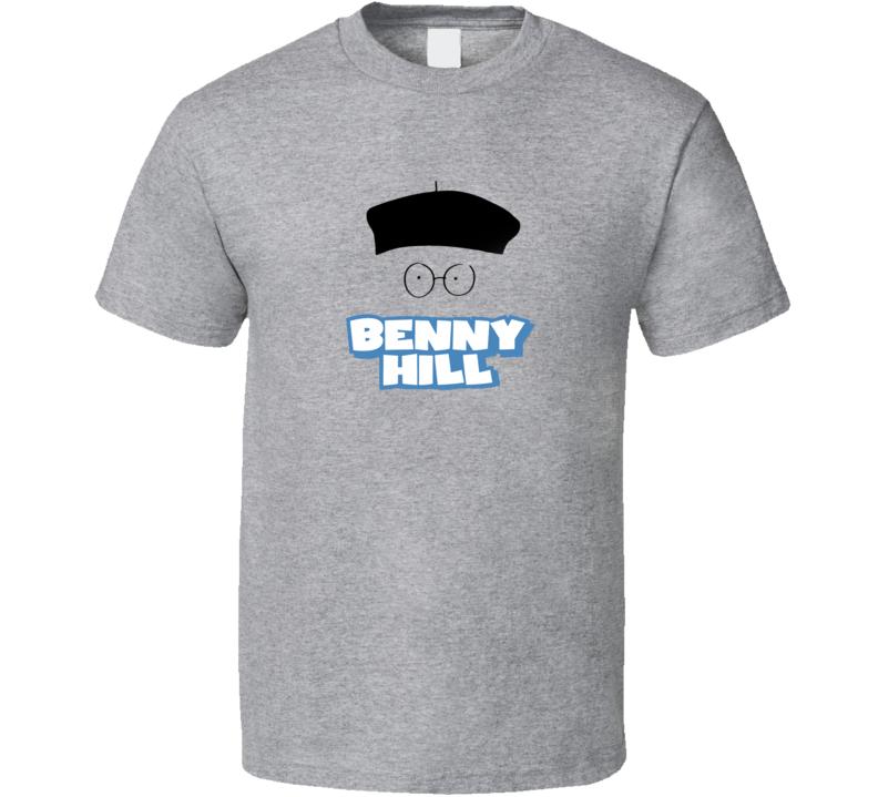 Benny Hill Tee Retro Tv Show Fan T Shirt