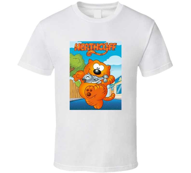 Heathcliff And The Catillac Cats Tee Retro Animated Tv Show Cartoon T Shirt