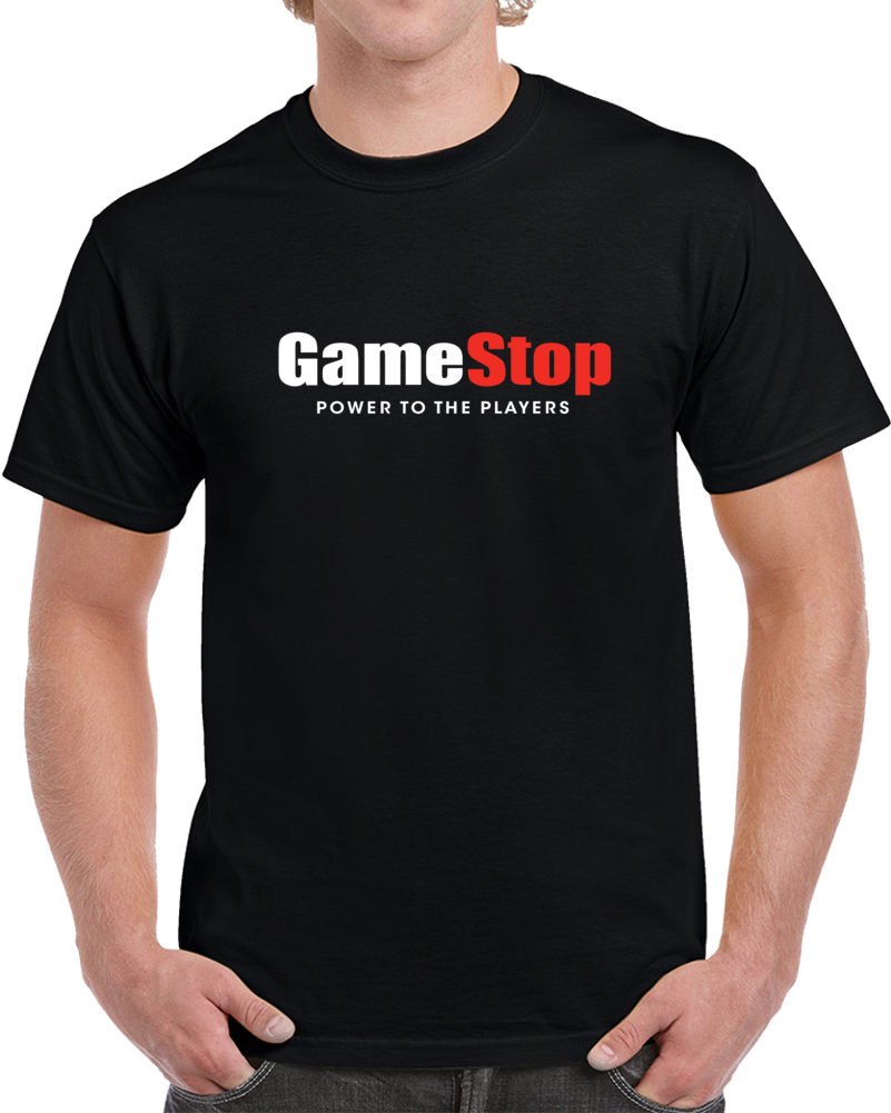 Gamestop Power To The Players Tee Reddit Wallstreetbets Stock Funny T Shirt