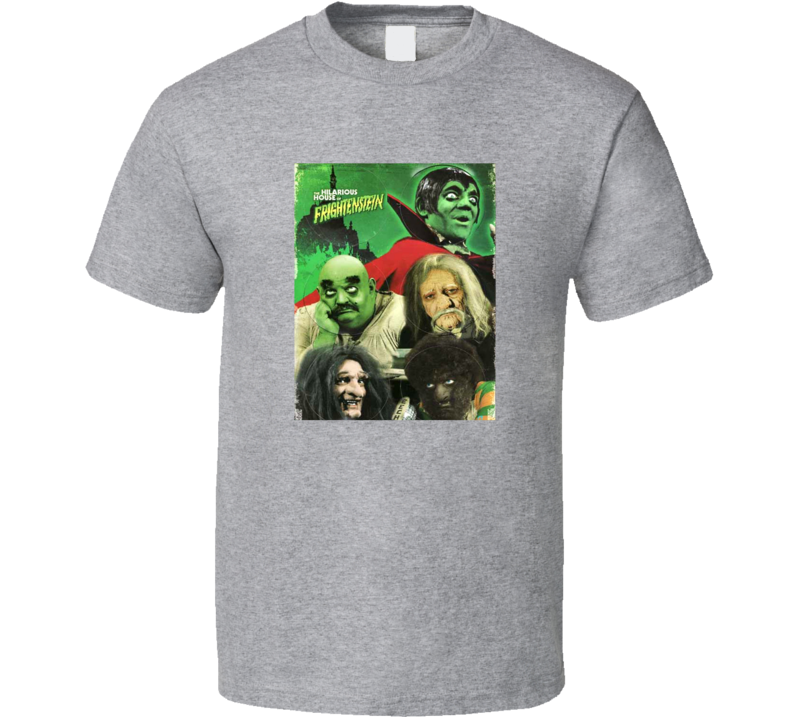 The Hilarious House Of Frightenstein Tee Retro Kids Television Series T Shirt