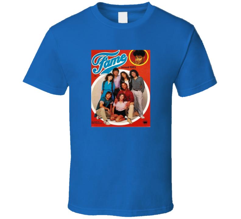 Fame Tv Show Tee Retro Television Series T Shirt