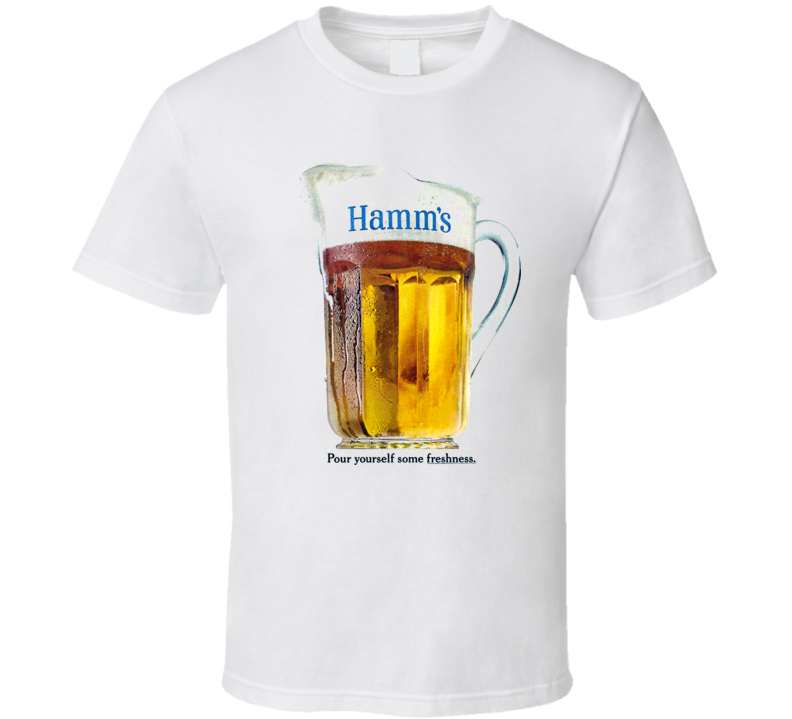 Hamms Beer 1965 Retro Ad Commercial T Shirt