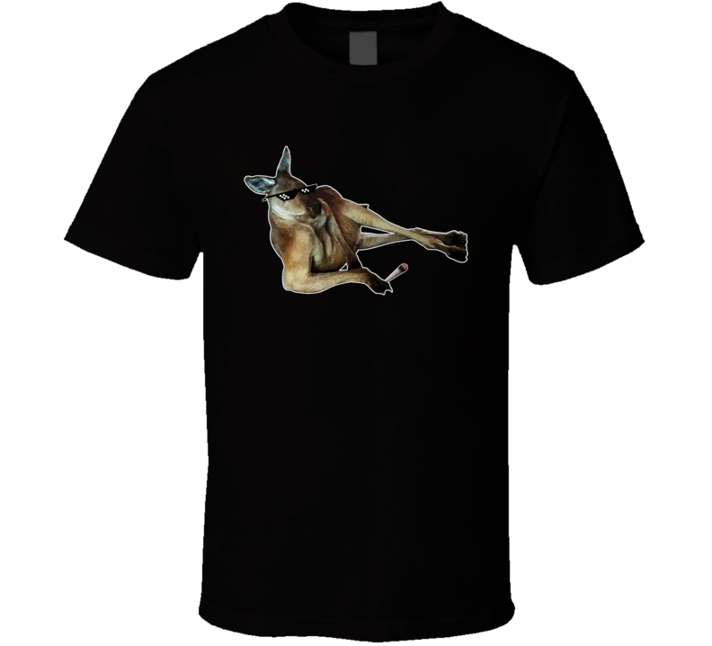 Thug Life Sexy Aussie  Kangaroo James Corden T Shirt