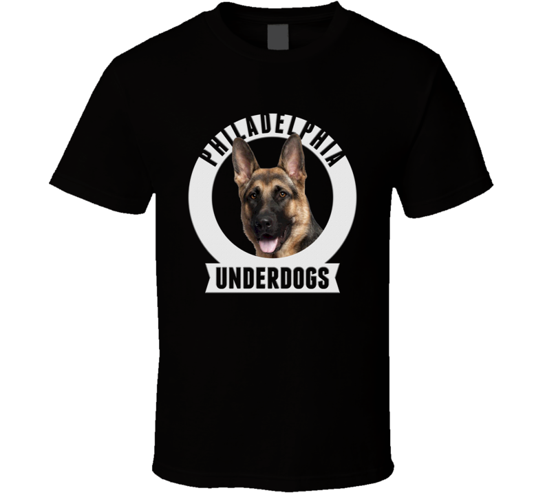 Philly Philadelphia Underdogs Nfc Champs Football Emblem T Shirt