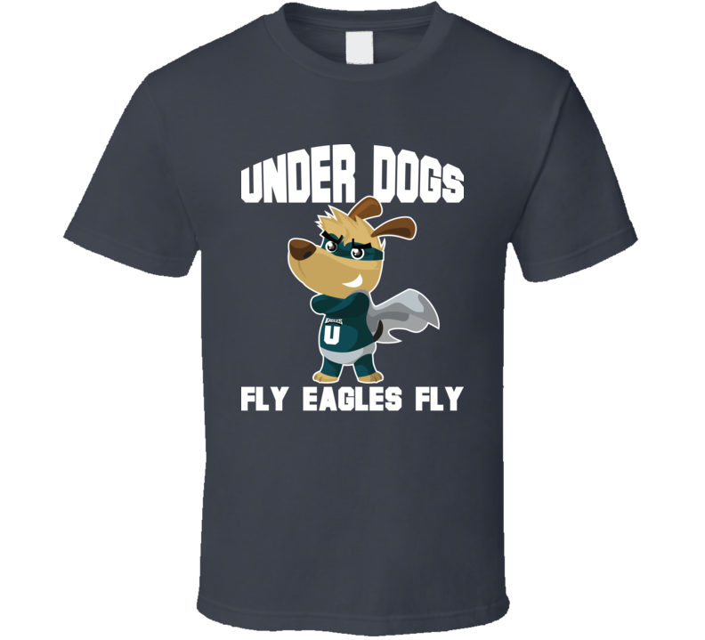 Fly Philly Philadelphia Football Super Underdogs Nfc Champs T Shirt