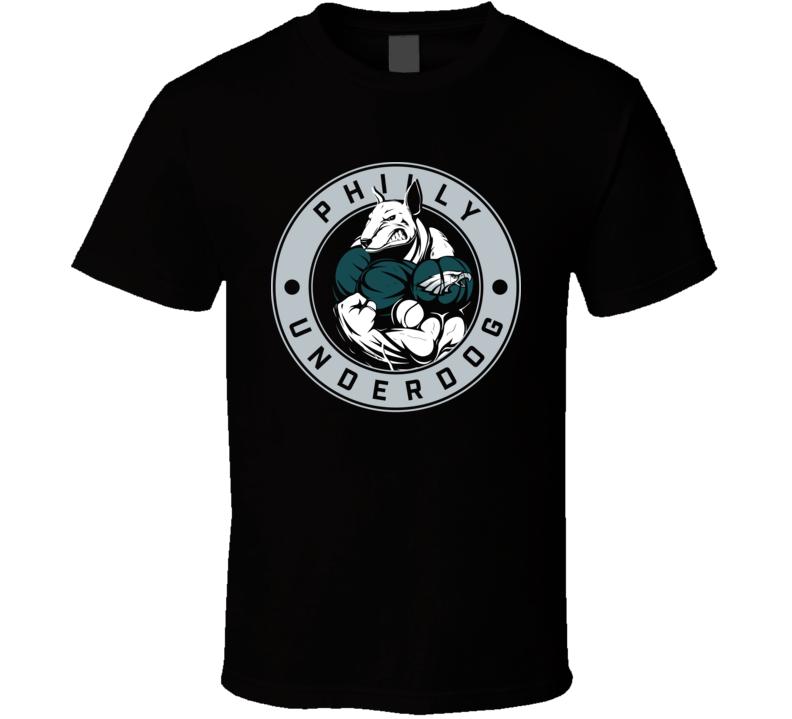 Philly Underdog Nfc Champs Philadelphia Football T Shirt