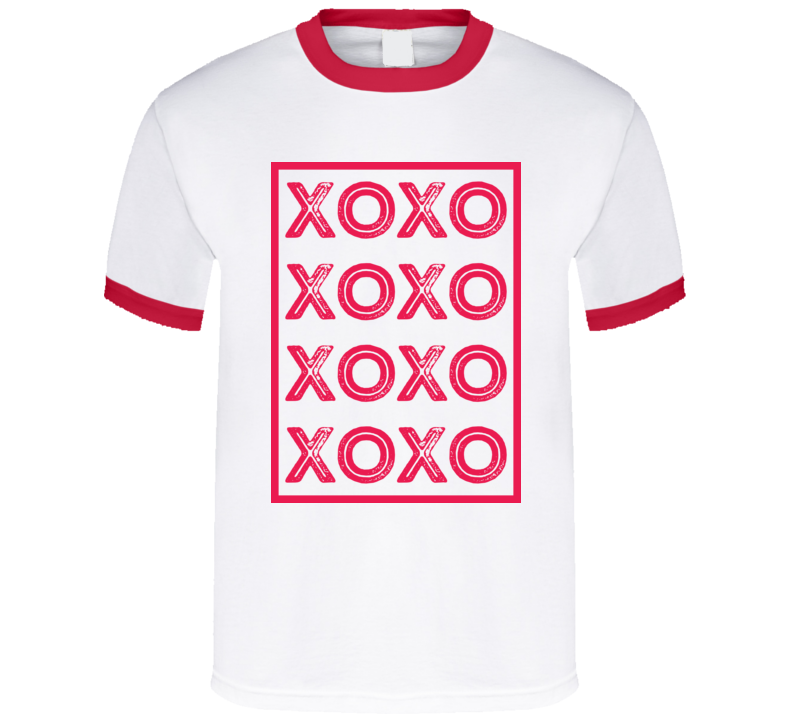 Xoxo Valentine's Day Romance Couple Love T Shirt