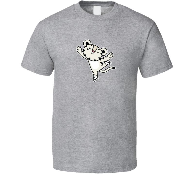 Figure Skating Soohorang Pyeongchang 2018 Olympics Mascot T Shirt