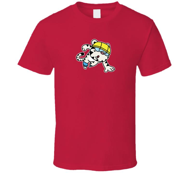 Short Track Soohorang Pyeongchang 2018 Olympics Mascot T Shirt